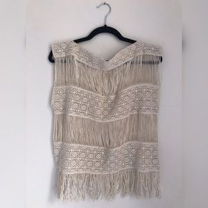 Anthropologie - Knit cover up top